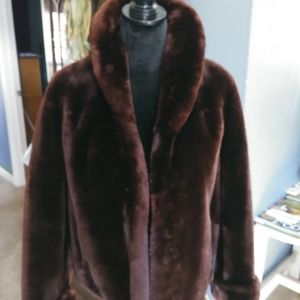 Jackets & Blazers - Beautiful Mink faux fur